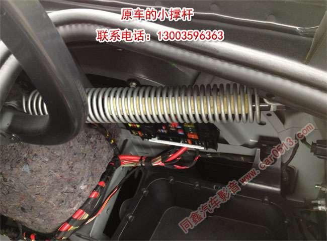 宝马5系加装原厂电动后尾门|无损加装_常州汽车配件