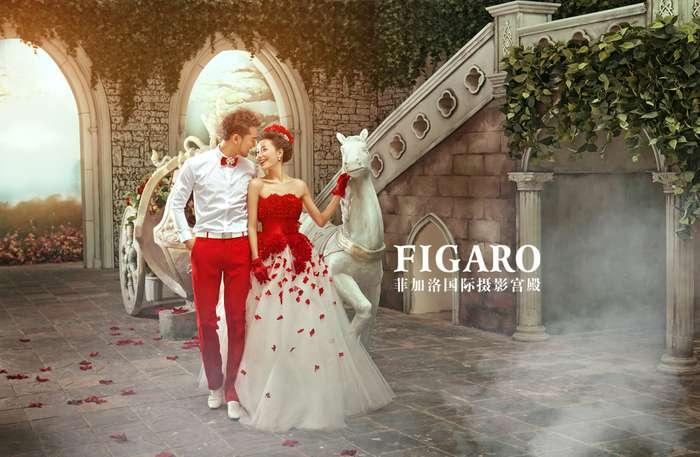 【常州婚纱摄影】极尽奢华欧式风!