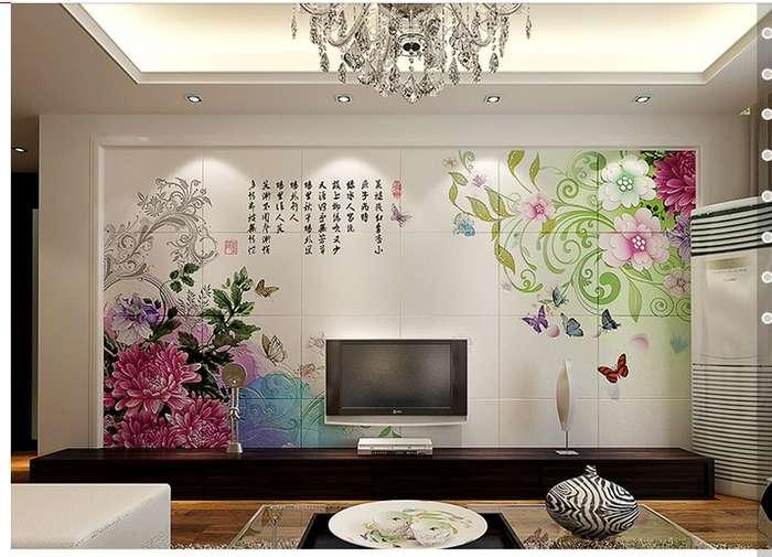 全国都可以设计和定制客厅电视背景墙