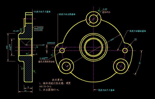 如何制作机械设计图纸,手工制作方法最好