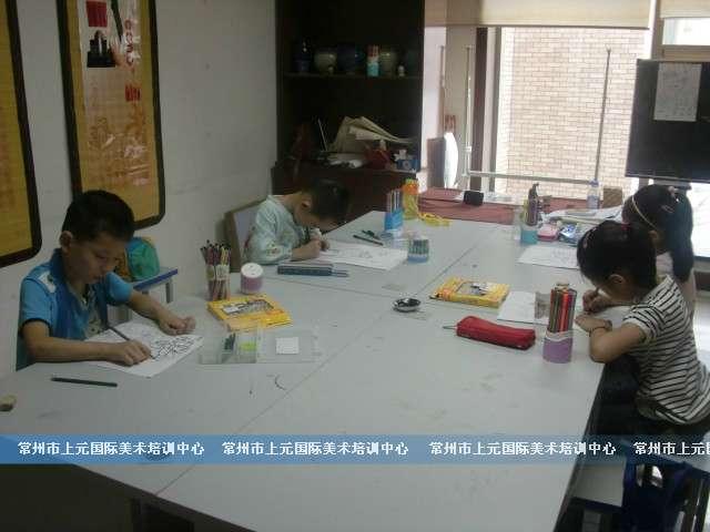 常州暑期幼儿美术兴趣班;常州少儿画画班;常州暑假班