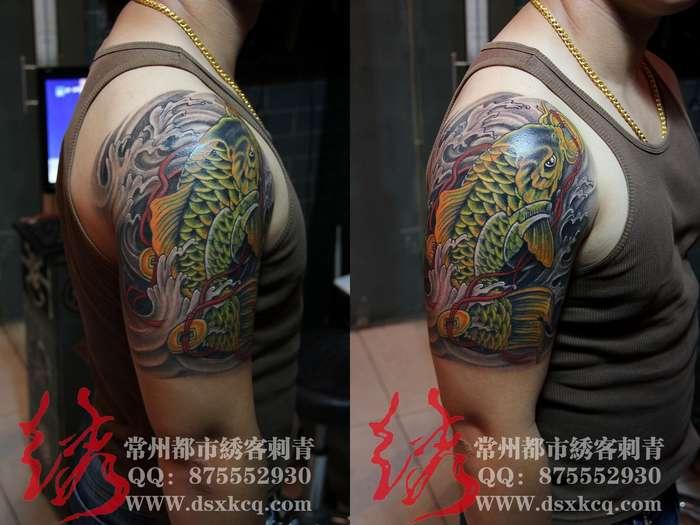 常州专业纹身;【都市绣客刺青】