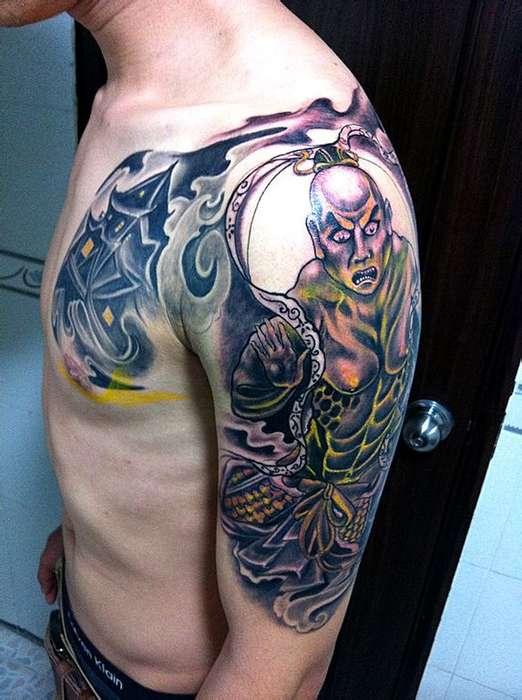 常州龙义堂纹身;暂时性纹身贴特区中心