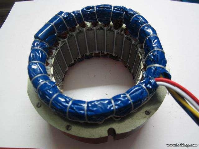 三相30槽10级电风扇线圈接线图
