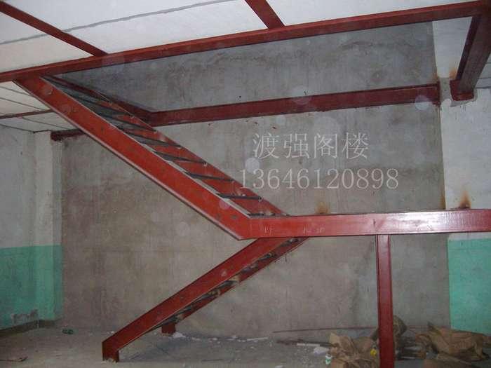 挑高隔层/钢结构搭建/楼梯制作