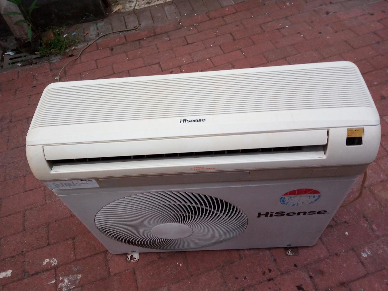 海信大一匹变频空调包安装调试好1200元
