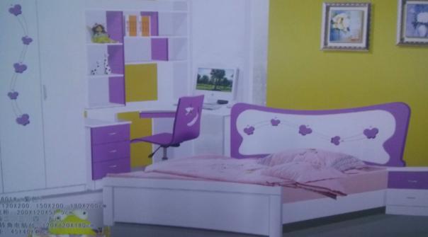 全新欧式儿童床1.2米680元