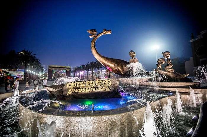 常州恐龙园温泉 天目湖温泉