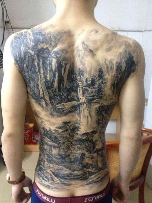 常州刺青;龙义堂纹身刺青;暂时性纹身