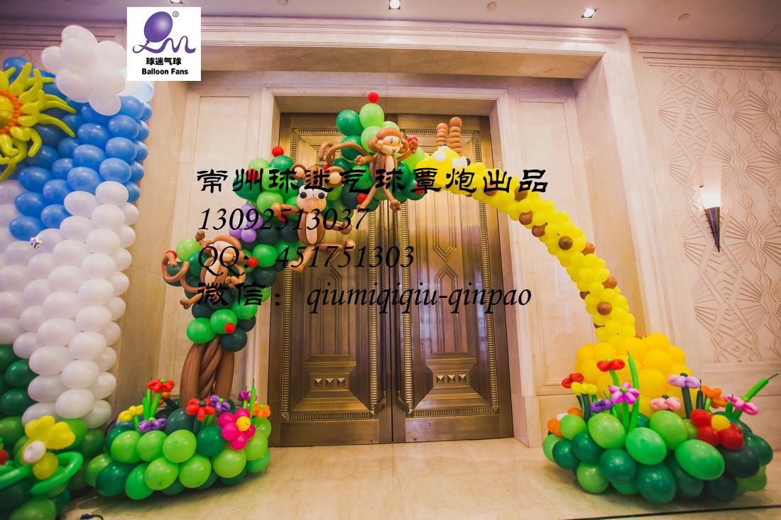 气球动物模型