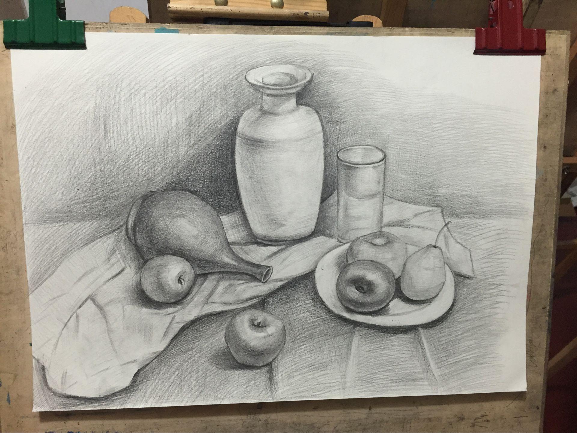 成人美术素描油画水粉零基础兴趣班图片