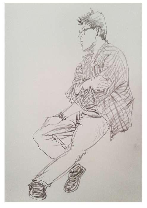卓越手绘线稿练习