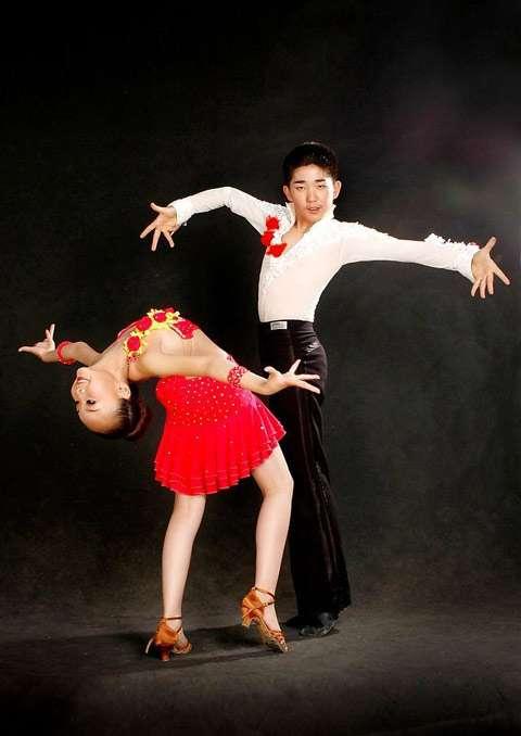 幼儿拉丁舞蹈高清