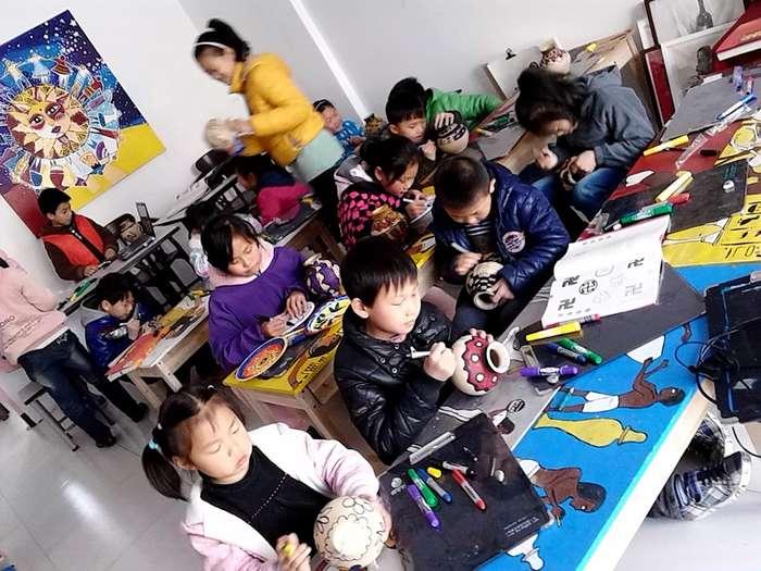 常州新北少儿暑假暑期绘画画创意美术素描书法招生