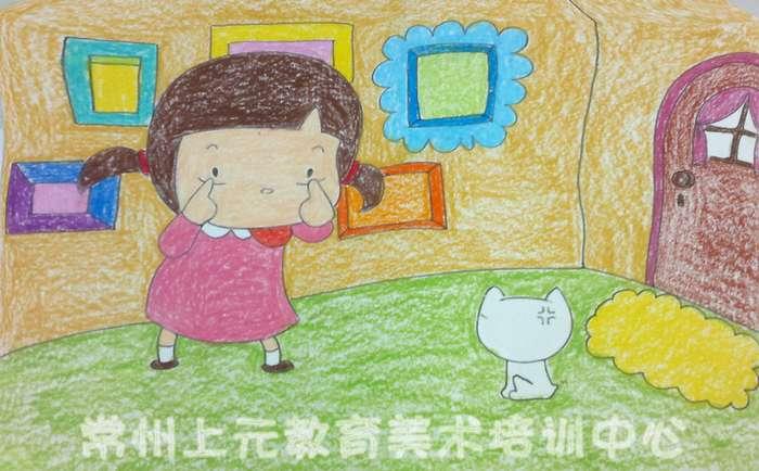 武进上元才艺培训学校武进儿童绘画培训班创意绘画班