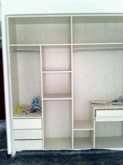 木工做的衣柜效果图