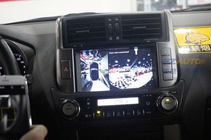 丰田霸道加装360度全景_常州汽车配件/其他_化龙巷