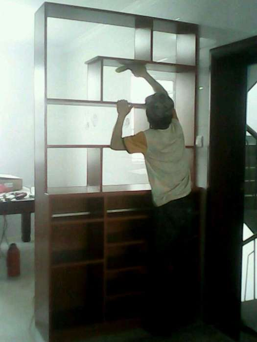 武进木工装修承接轻钢龙骨吊顶 隔墙 及各种室内外装修业务? - [举报]