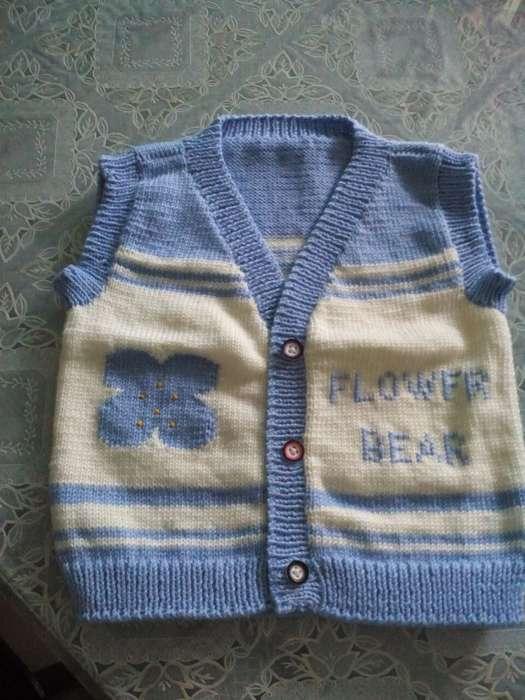纯手工编织宝宝婴儿绒线衣鞋背心连体衫 - [举报]