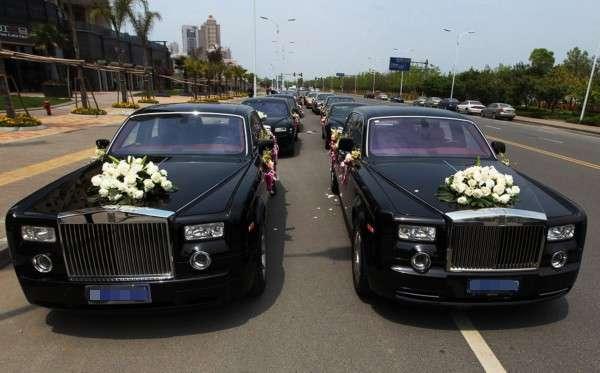 最豪华的婚礼车队_常州高姐婚庆车队,各种高档头车车队任您选最低的价格