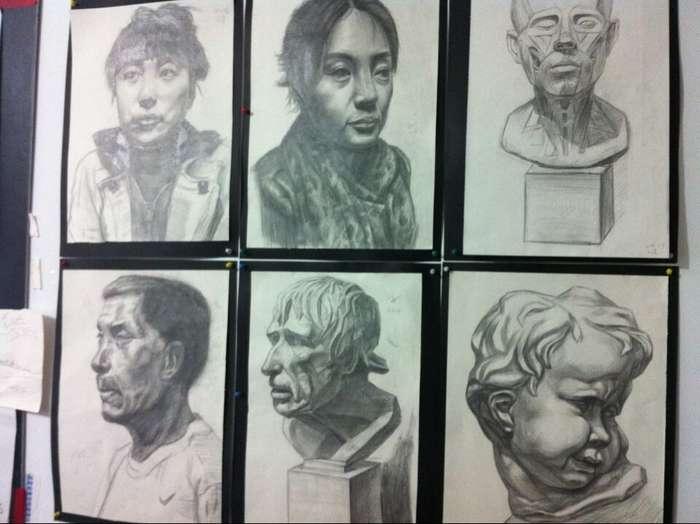 常州美术考级培训 初中生绘画中考班