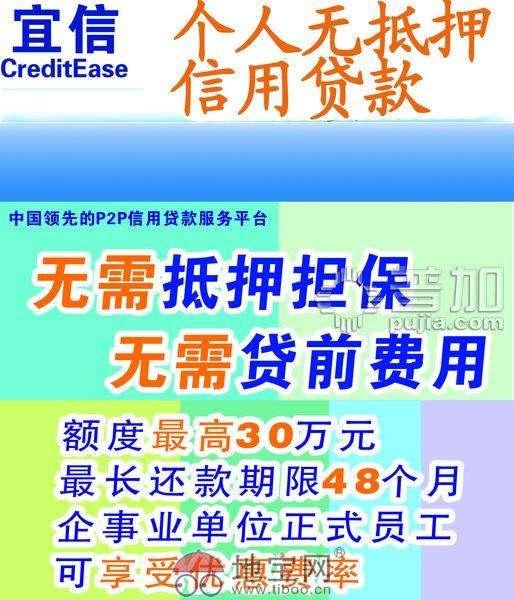 常州贷款 无抵押免担保个人企业信用贷款_常州