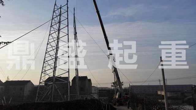 武进吊车汽吊出租:塔吊起重安装,钢结构吊装,电线塔搭建吊装等