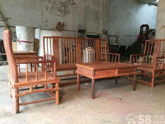 红木沙发白酸枝_常州二手家具/家居