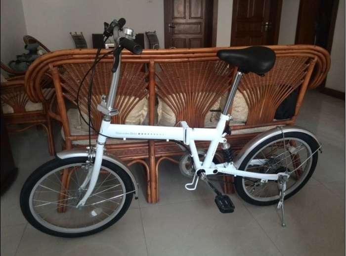 奔驰折叠自行车图片