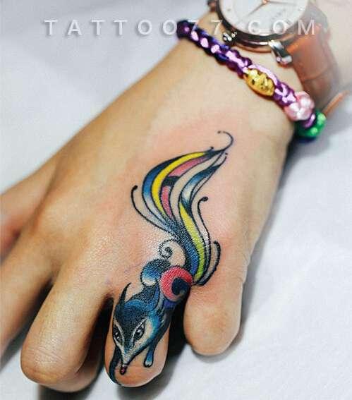 美发师纹身图案手稿分享展示