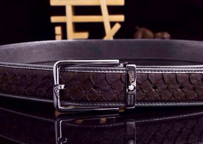 原版皮腰带,顶级蛇皮皮带, - [举报]