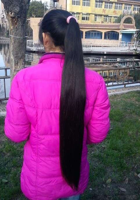 收头发,收长头发图片