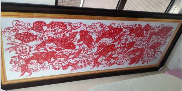 年年有鱼(余)十字绣_常州艺术品/收藏品