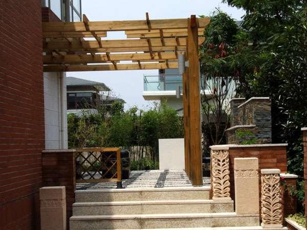 别墅庭院绿化景观设计与施工
