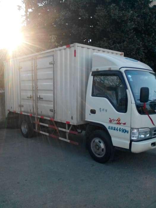 自带江淮4.2米厢式货车求职 出租高清图片