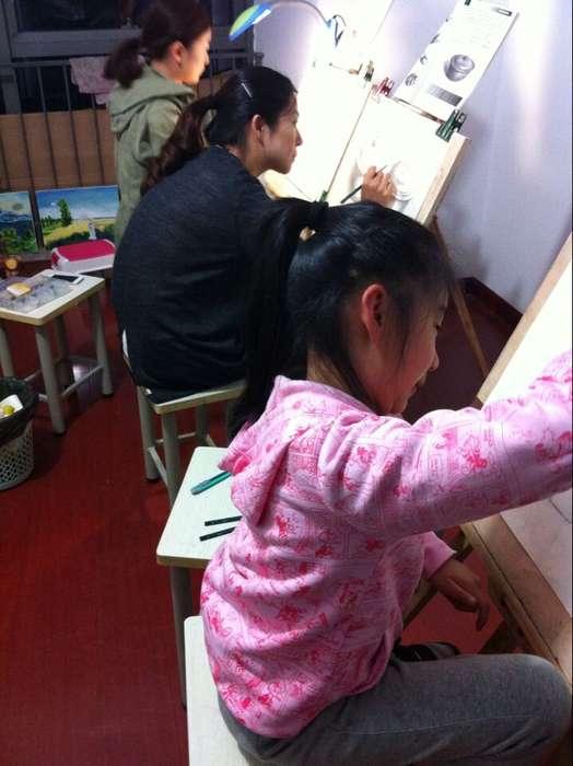常州少儿绘画班 素描考级培训班 一对一绘画培训