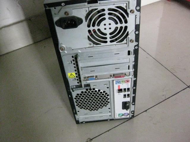 原装惠普双核2g独显高配游戏电脑主机1台