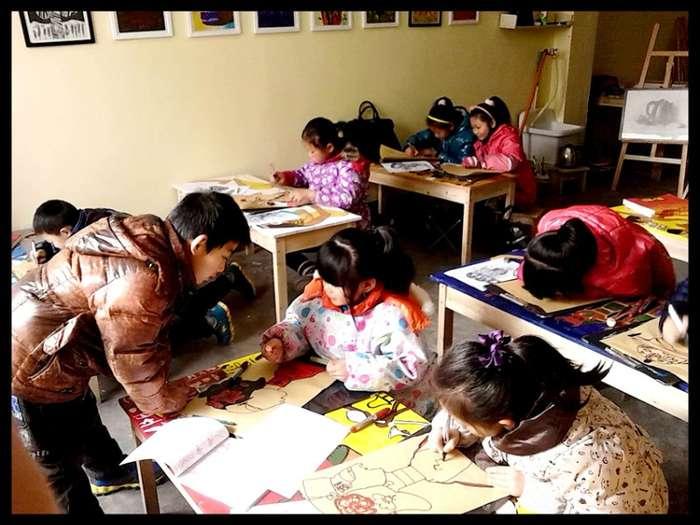 常州新北少幼儿美术绘画画培训