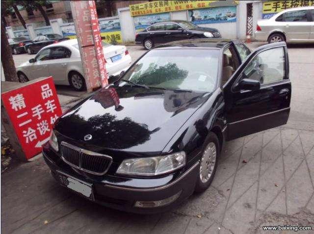 2003年12月的尼桑蓝鸟进口,自动挡天窗最高配置,黑色,一手车,2.