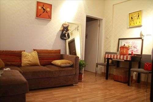 现代家庭装潢效果图 一室一厅朴实小户型高清图片