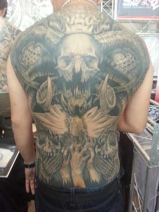 中国江苏常州纹身;龙义堂纹身刺青