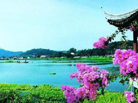 【特价游】苏州锦溪古镇,石湖景区一日游(含门票,含餐