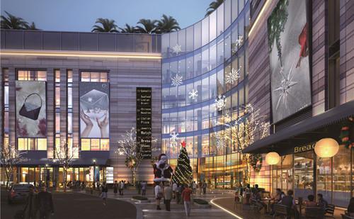 龙城天街再造钟楼新商业环境