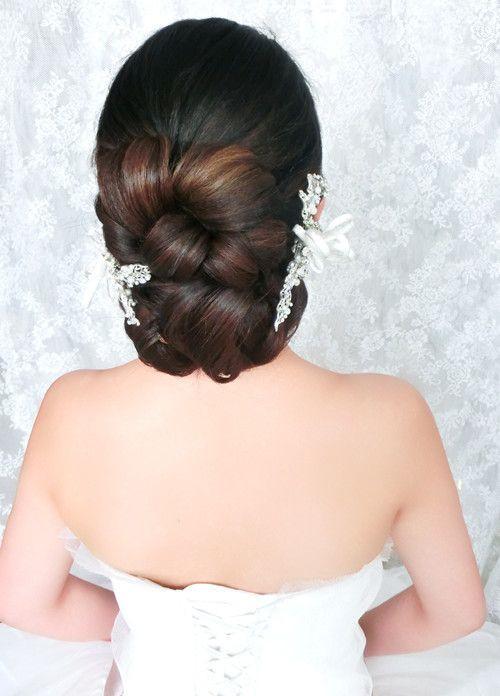 新娘妆容造型图片