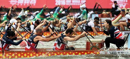 厉害了!2016国际龙舟联合会世界杯,中国队首次成就大满贯