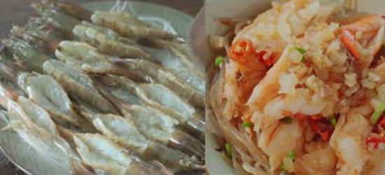 视频:两分钟教你做蒜蓉粉丝虾,蒜蓉的香和虾的鲜完美融合