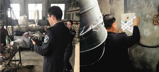武进环保局开展污染防治攻坚战雷霆执法专项行动