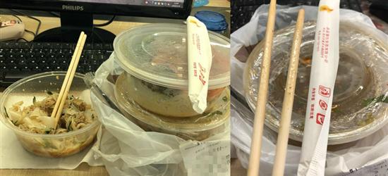 明明是一人份的外卖,老板却给了我2双筷子,我真的吃多了?