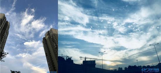 常州的蓝天白云!欢迎回来,好久不见,再次见面被你美到啦!