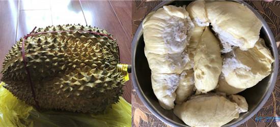 晒我买的大榴莲,一个榴莲竟能剥这么多肉!有啥新鲜吃法?